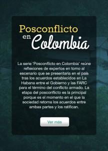 Posconflicto en colombia